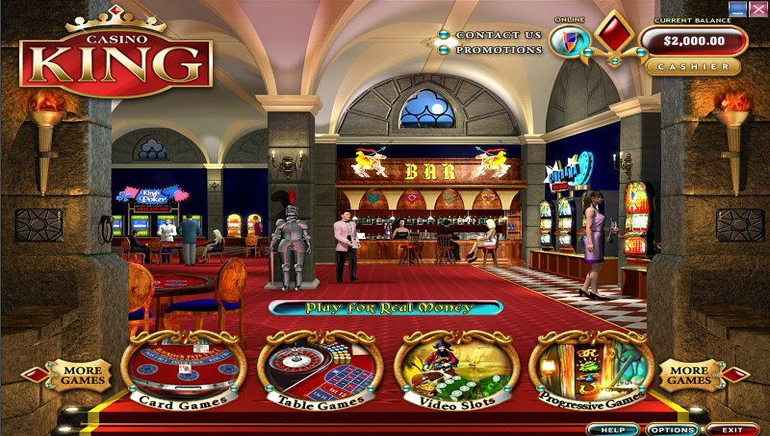 Online Spotlight on Casino King