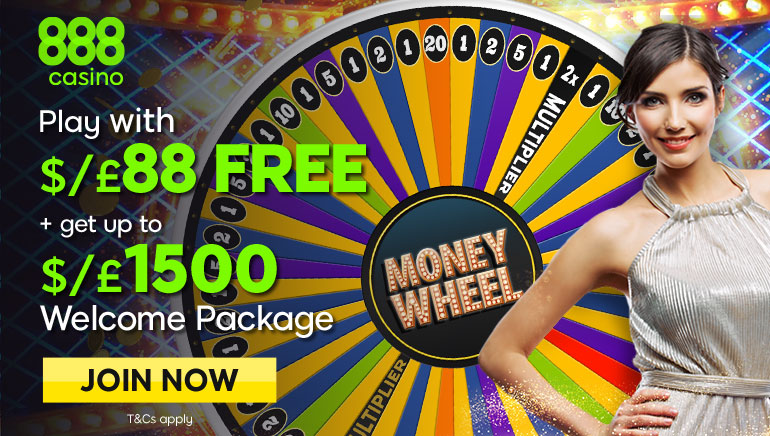 888 Casino Launches Brand New Type of Live Dealer Game: Dream Catcher