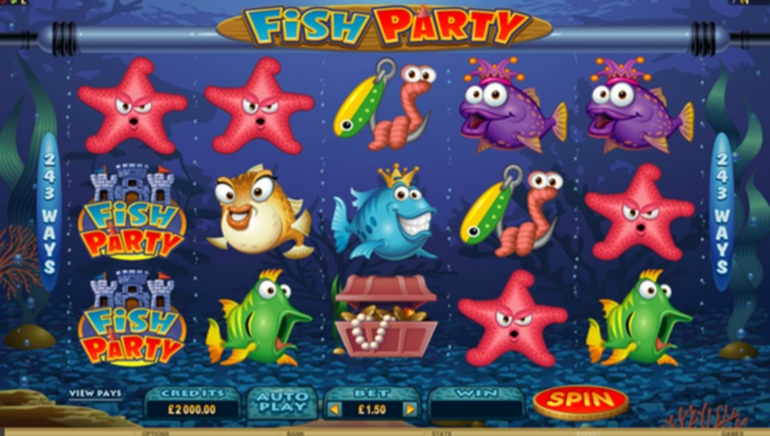 All Slots Debuts Fish Party – Fun New Underwater Slot