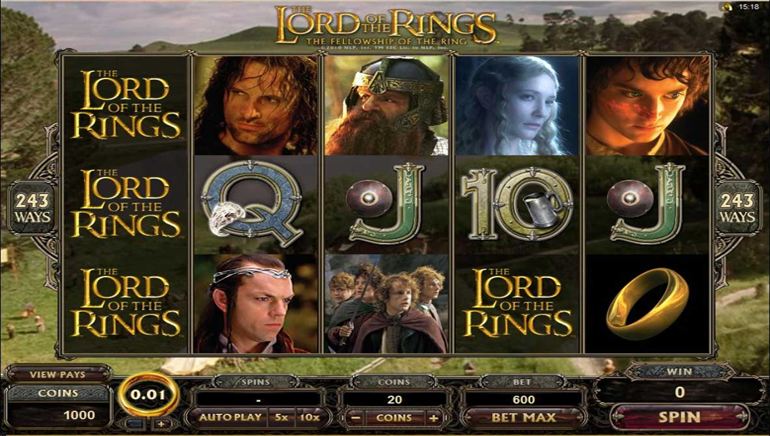 Microgaming Launches Lord of the Rings