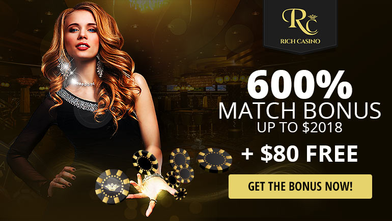 Exclusive OCR Welcome Promotion at Rich Casino For 2018