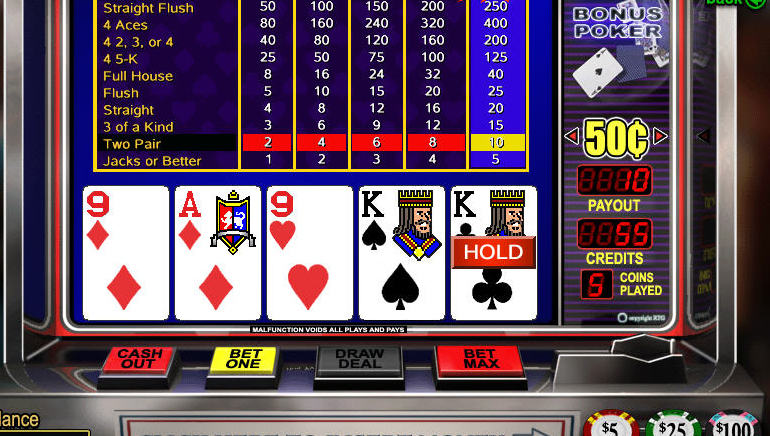 online casino video poker best online casino